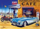 Route 66 Caf� - 1000pc Jigsaw Puzzle by Masterpieces
