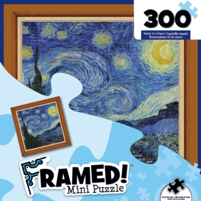 Masterpieces Starry Night Jigsaw Puzzle