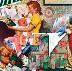 Masterpieces The Babysitter Jigsaw Puzzle