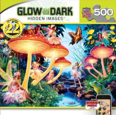 Masterpieces Toadstool Brook Jigsaw Puzzle
