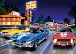 Masterpieces Woodward Avenue Jigsaw Puzzle