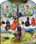 Puzzles Michele Wilson Arbre g�n�alogique - MOYEN AGE Handcrafted Jigsaw Puzzle