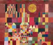 Puzzles Michele Wilson Ch�teau et soleil - KLEE Handcrafted Jigsaw Puzzle