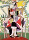 Femme au jardin - PICASSO - 150pc Handcrafted Jigsaw Puzzle by Puzzles Michele Wilson