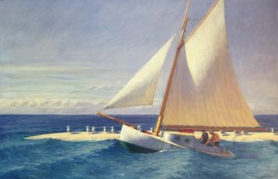 Puzzles Michele Wilson Le bateau à voile - HOPPER Handcrafted Jigsaw Puzzle