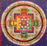 Puzzles Michele Wilson Mandala de Chakra - ART TIBETAIN Handcrafted Jigsaw Puzzle