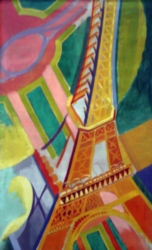 Puzzles Michele Wilson Tour Eiffel - DELAUNAY Handcrafted Jigsaw Puzzle
