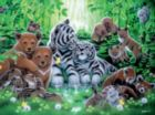Aqua Shimmer: Forest - 750pc Jigsaw Puzzle by Ceaco