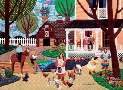 Ceaco Arlette Gosieski Summertime at Thomas Farm Jigsaw Puzzle