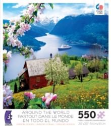 Ceaco Around the World Ulvikfjord, Norway Jigsaw Puzzle