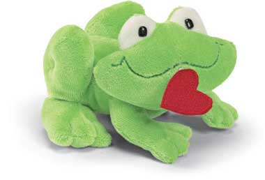 "Prince Kiss-A-Lot Zip Along - 4"" Frog by Gund"