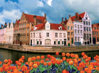 Ceaco Bon Voyage Travel Photos Jigsaw Puzzle | Belgium