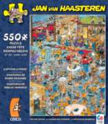 Ceaco Cartoon Capers The Fire Station Jigsaw Puzzle
