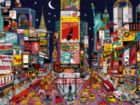 City Lights: New York City - Red, White, & Blue - 750pc Jigsaw Puzzle by Ceaco