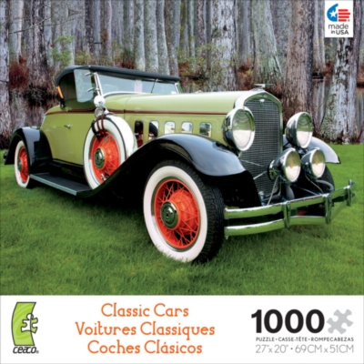 Ceaco Classic Cars Jigsaw Puzzle | Two-Tone