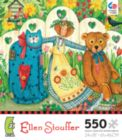 Ellen Stouffer: Girl and Friends - 550pc Jigsaw Puzzle by Ceaco