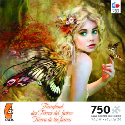 Ceaco Fairyland Jigsaw Puzzle - Touch of Gold - 750 pieces