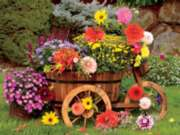 Ceaco Flora Flower Wagon Jigsaw Puzzle