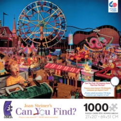 Ceaco Joan Steiner Amusement Park Hidden Picture Jigsaw Puzzle