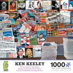 Ceaco Ken Keeley 20-21st Century Newsstand Jigsaw Puzzle