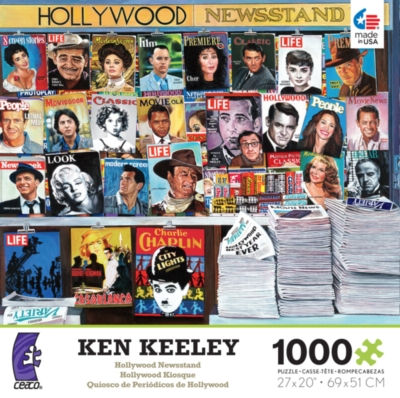 Ceaco Ken Keeley Hollywood Newsstand Jigsaw Puzzle