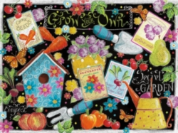 Ceaco Let's Chalk Grow Your Own Jigsaw Puzzle