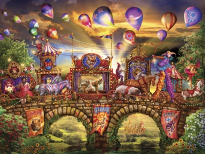 Ceaco Magical World Jigsaw Puzzle | Carnivale Parade