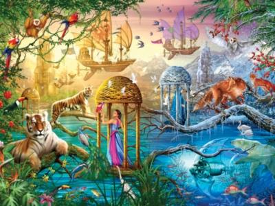 Ceaco Magical World Jigsaw Puzzle   Shangri-La