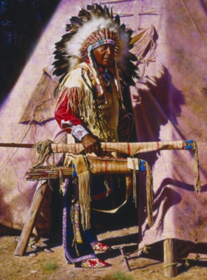 Ceaco Native Portraits Jigsaw Puzzle | Return of the Old Hunter