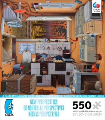 Ceaco New Perspectives Kitchen Jigsaw Puzzle