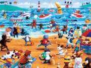 Ceaco Beach Cats Oversized Jigsaw Puzzle