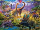 Prehistoria: Sauropods - 300pc Oversized Jigsaw Puzzle by Ceaco