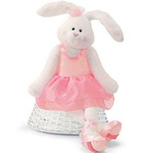 """Tippy Toes Dance With Me - 32"""" Bunny by Gund"""