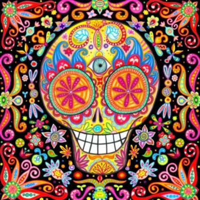 Ceaco Sugar Skulls Jigsaw Puzzle | Momento Mori III
