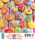 Sweet Treats: Cupcakes - 550pc Jigsaw Puzzle by Ceaco