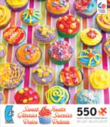 Ceaco Sweet Treats Cupcakes Jigsaw Puzzle