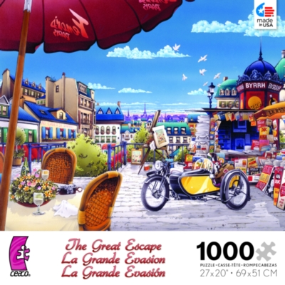 Ceaco The Great Excape Jigsaw Puzzle   Venetian Canal in Italy