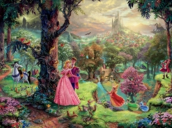 Ceaco Thomas Kinkade Sleeping Beauty Jigsaw Puzzle
