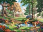 Thomas Kinkade Disney Dreams: Winnie the Pooh I - 750pc Jigsaw Puzzle by Ceaco
