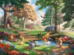 Ceaco Thomas Kinkade Winnie the Pooh Jigsaw Puzzle