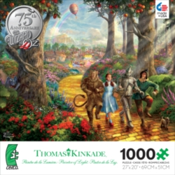 Ceaco Thomas Kinkade Follow the Yellow Brick Road Jigsaw Puzzle