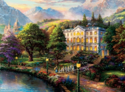 Ceaco Thomas Kinkade The Sound of Music Jigsaw Puzzle