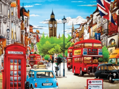 Ceaco Weekend Escape London Jigsaw Puzzle
