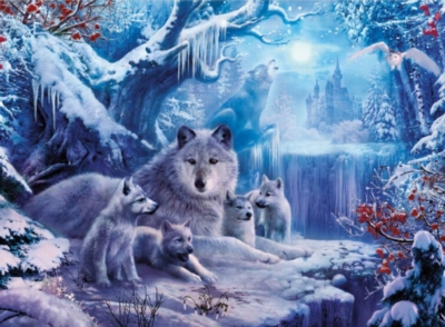 Ceaco Wolves Jigsaw Puzzle | Winter Wolves