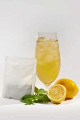 Two Leaves Tea: Meyer Lemon - Box of 24 1oz. Iced Tea Filter Bags
