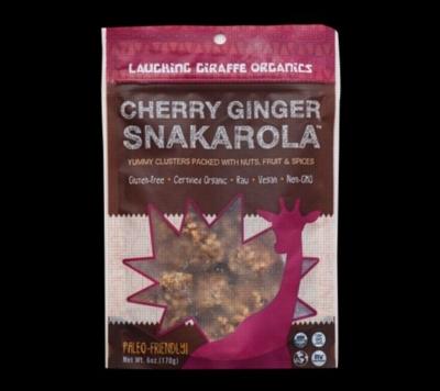 Laughing Giraffe Organics Snakarola - Cherry Ginger