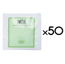 Novus Handcrafted Tea - Case of 50 Individually Wrapped Tea Bags
