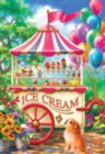 Ice Cream Cart - 100pc Jigsaw Puzzle by SunsOut