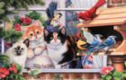 Dinnertime - 100pc Jigsaw Puzzle by SunsOut