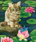 Lily's Pond - 200pc Jigsaw Puzzle by SunsOut